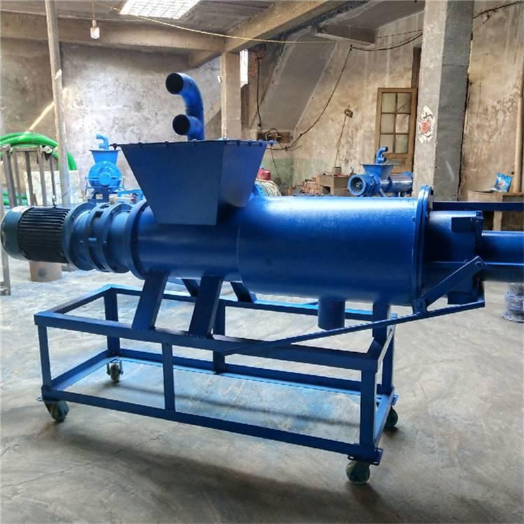 通化造纸厂废料挤水机 润丰 养殖粪便干湿分离机规格
