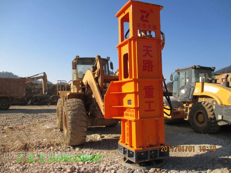 天路重工牌TRA系列高速液压夯实机专为软地基设计-处理桥头跳车质量过硬