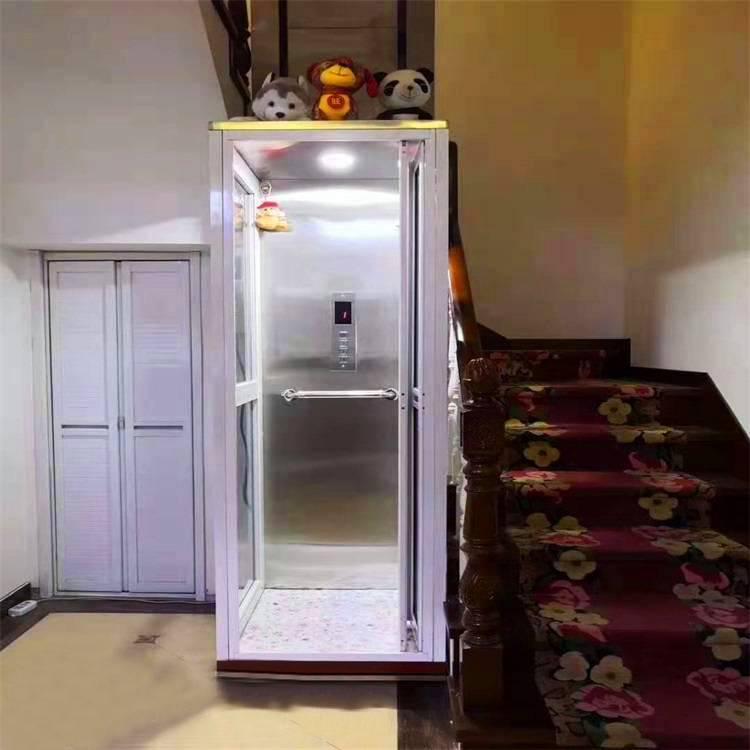 青岛阳台二层家用电梯哪有做的/坦诺液压升降电梯生产厂家