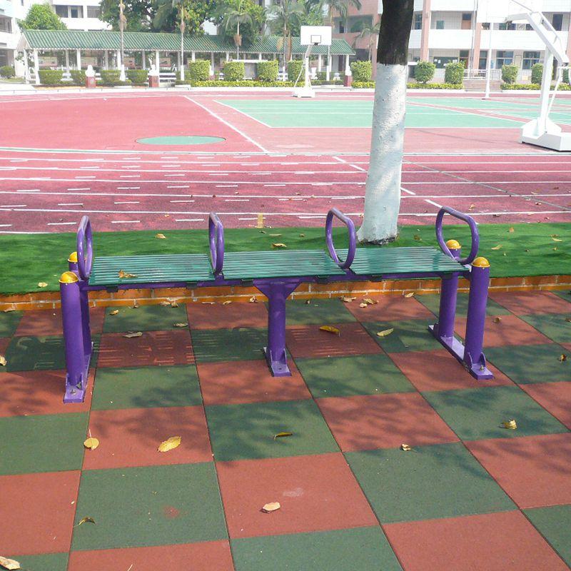 佛山休闲娱乐锻炼器材 健身器材名称及图片 114管情侣平步机