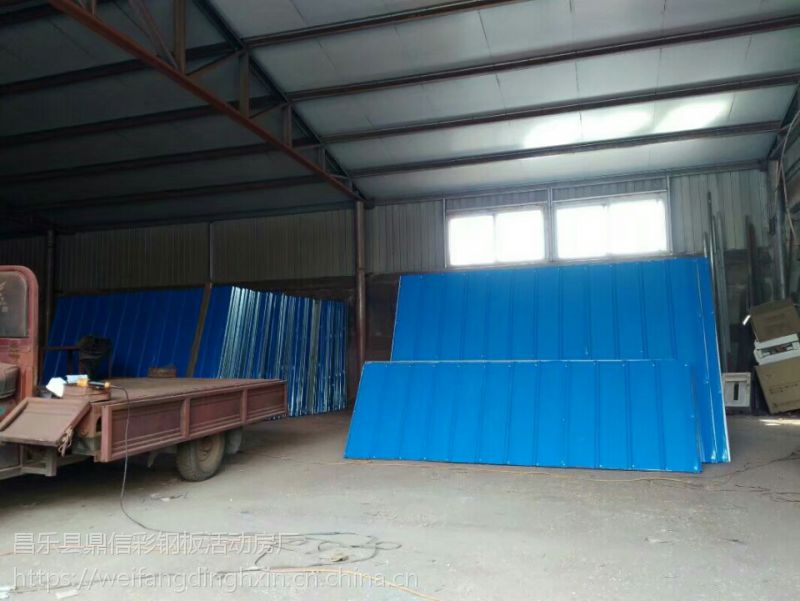 供应利津工地施工围挡 工程彩钢围挡 活动围墙厂家