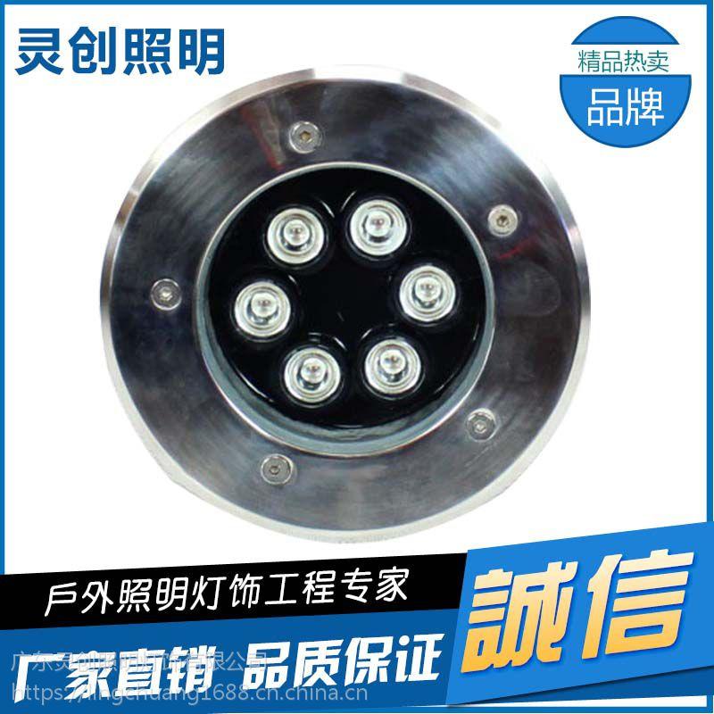 广西 桂林 园林亮化IP68地埋灯专业厂家 广东灵创照明 质量好服务好