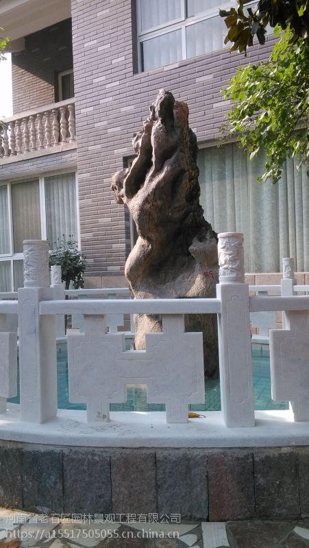 老石匠石材雕刻艺术,园林设计,浮雕线条,石亭子,花架,栏板
