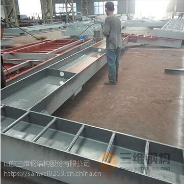山东异形钢结构加工公司-三维钢构