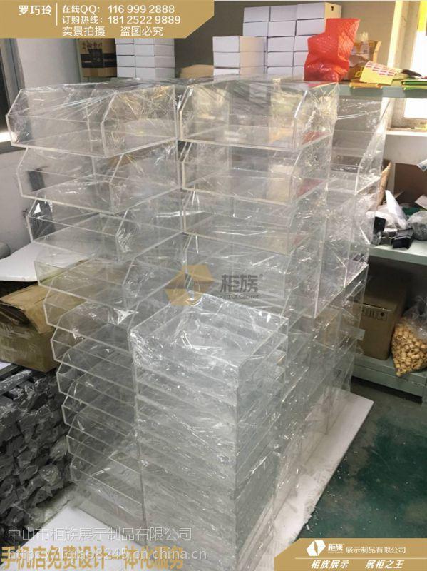 小米体验店中岛配件柜亚克力盒批发,2018款小米体验店展台风格