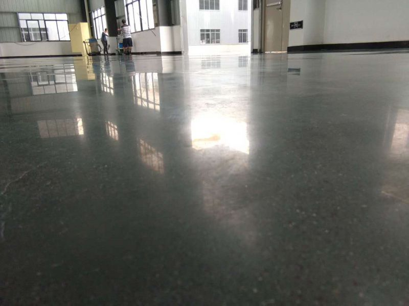 东莞固化地板公司-莞城旧地面起灰处理-地固
