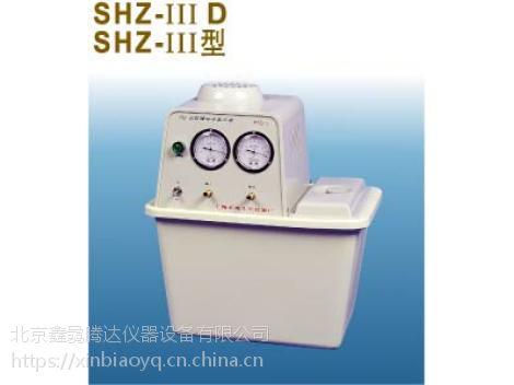 SHZ-IIID循环水真空泵 鑫骉水循环真空泵操作说明书