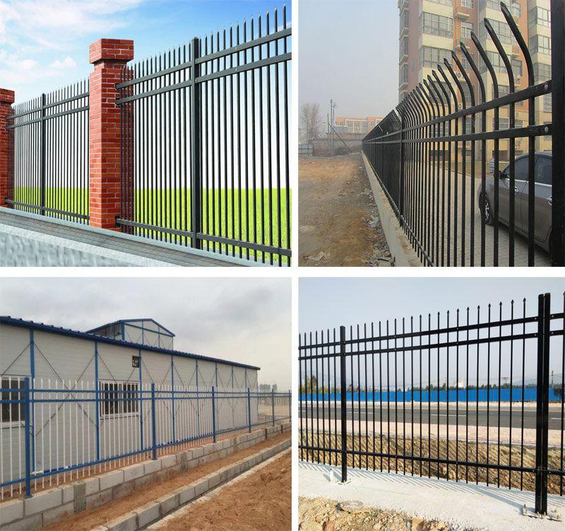 惠州厂房锌钢栅栏 热镀锌管材护栏防腐 深圳路边栅栏安装