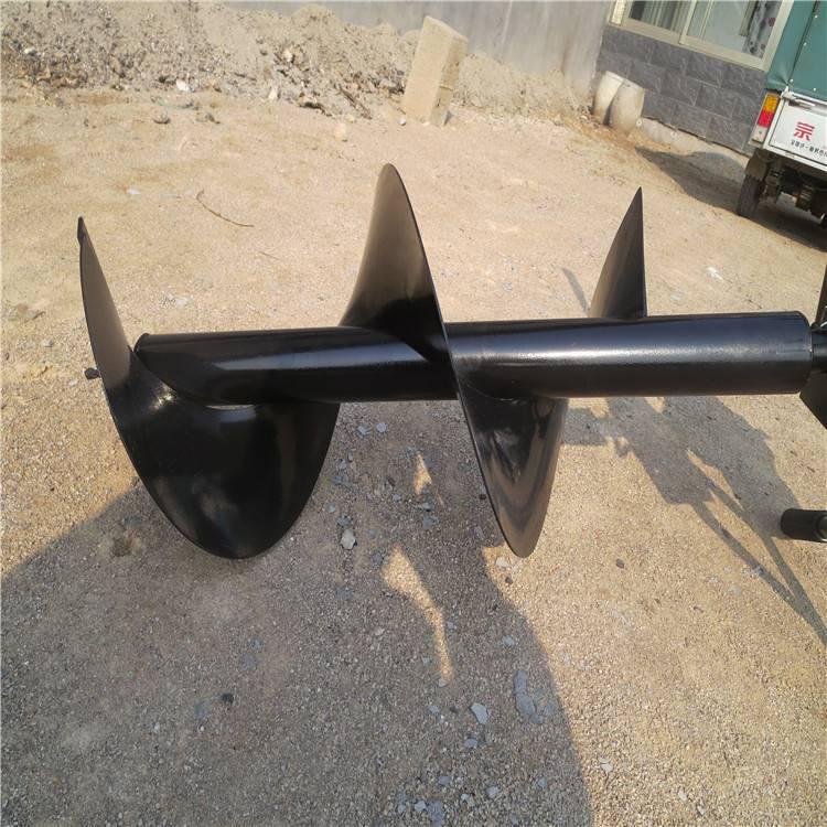 种植机械挖坑机 汽油机手提挖坑机润丰专业生产