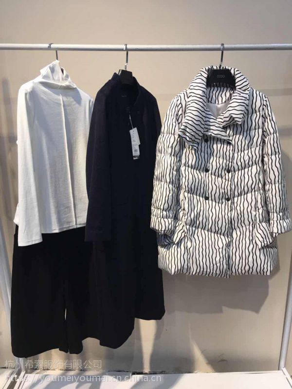 欧美品牌折扣女装多种款式批发尚艾诗尾货批发走份货源渠道剪标出货
