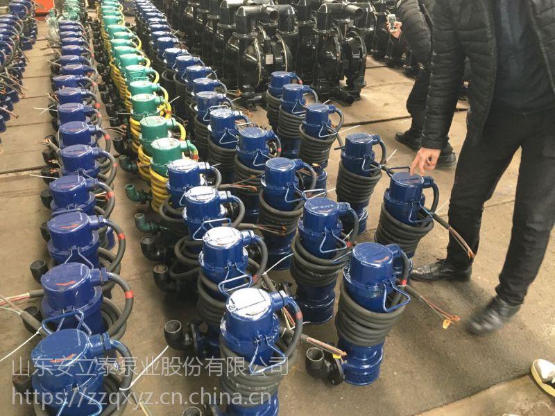山东安立泰泵业WQB50-30-7.5医院排污工程用防爆潜水泵