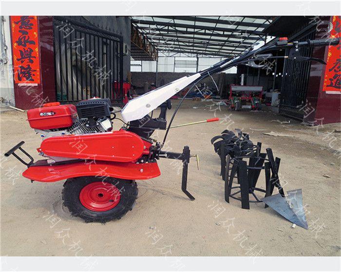 农场12马力开沟旋耕机 体积小马力大旋耕机 轻巧型除草机
