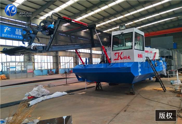 多功能打捞水草船 水葫芦收集清除设备