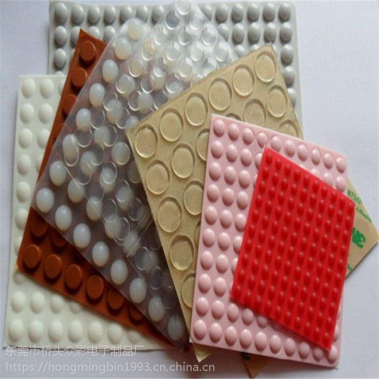 杭州硅胶19*4.5mm耐高温胶垫 缝隙填充柔韧硅胶脚垫