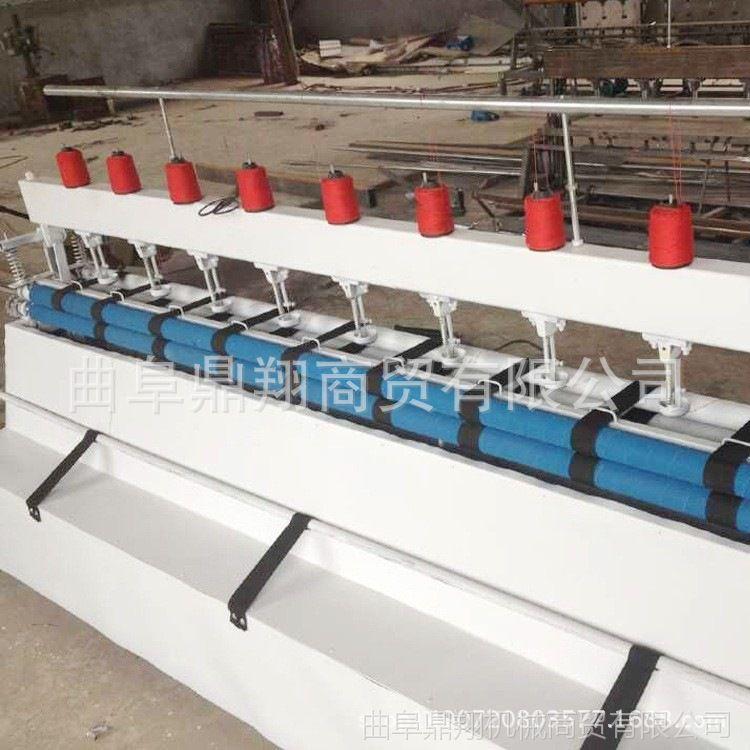 保温被专用引被机视频 多针绗被机报价 商用大型电动引被机厂家