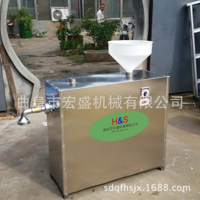 小型米豆腐机玉米酸浆馇条机价格 全自动粉条机 米粉机 曲阜宏盛机械制
