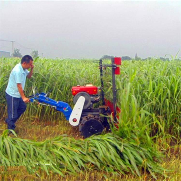 山西谷草收割机 晚稻旱稻割杆机