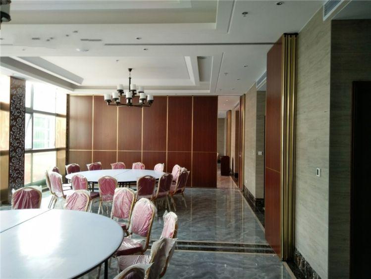 精品定制活动隔断酒店移动屏风墙会议室旋转隔墙餐厅折叠门隔音墙