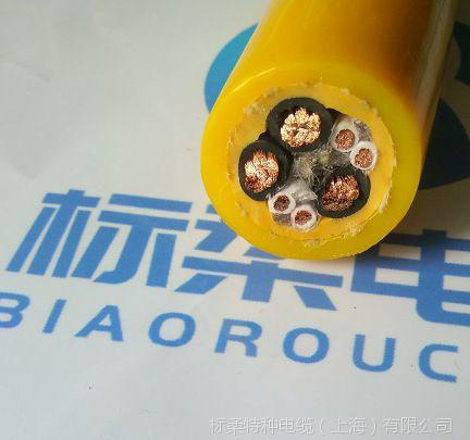 PUR双护套拖拽卷筒电缆 特种凿岩台车尾缆 矿车电缆