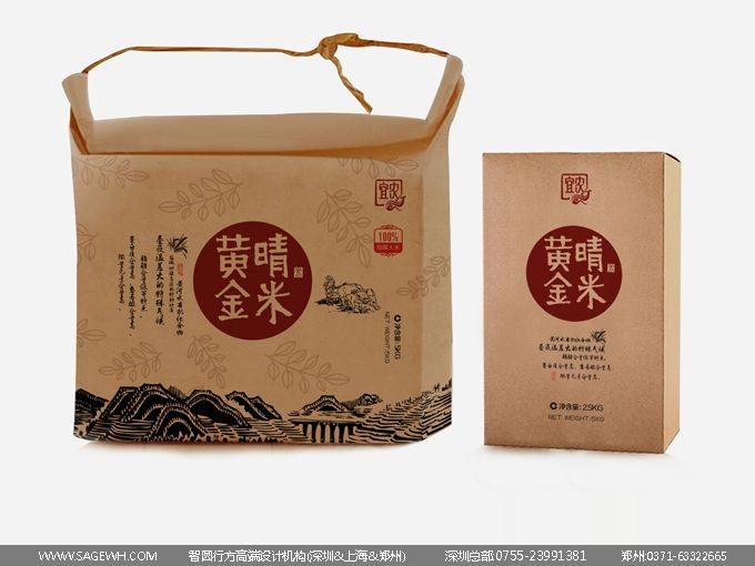 糙米包装设计 糙米粥包装设计 糙米粉包装设计