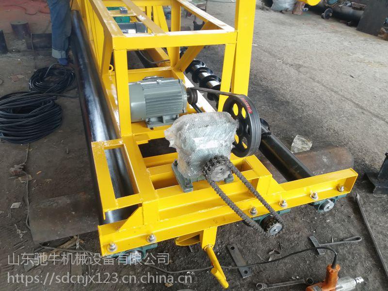 山东驰牛三辊轴HZP259A路面整平机 框架型混凝土沥青摊铺机