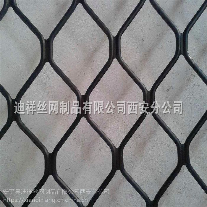 陕西西安铝美格网 轻型门窗防护网 铝美格网批发