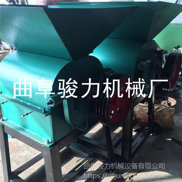 骏力机械 优质杂粮轧胚机 电动花生米破碎机 粮食磕瓣机 原理