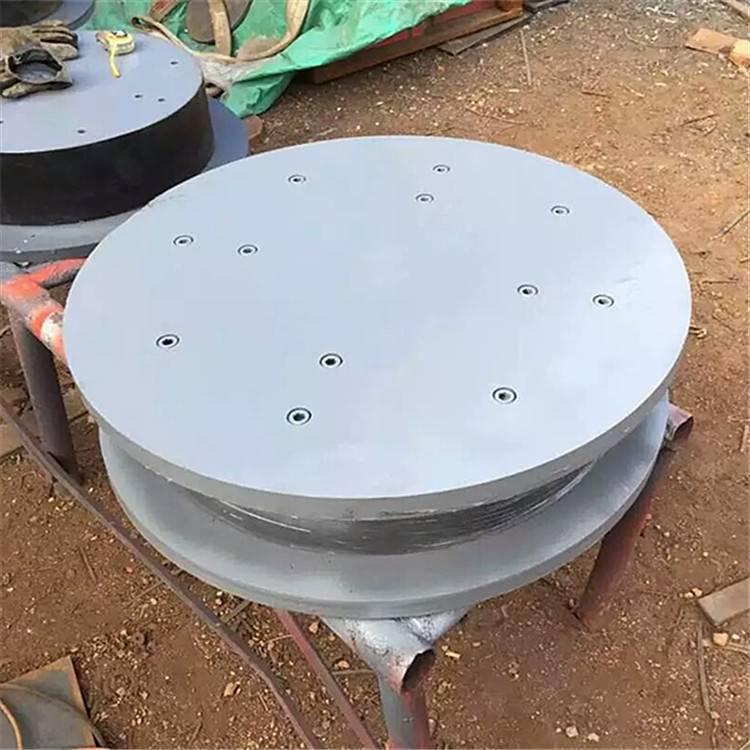 JQGZ-II弹性减震球形钢支座 台儿庄 钢支座 陆韵 完美的生产技术