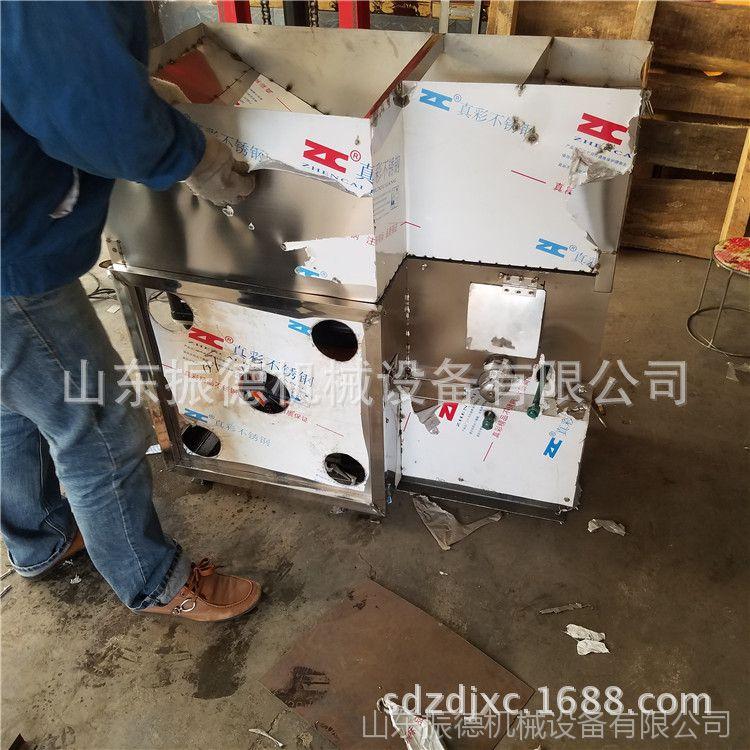冰糖绿豆膨化机 贵州商业型箱式膨化机 空心棒玉米膨化机 振德牌