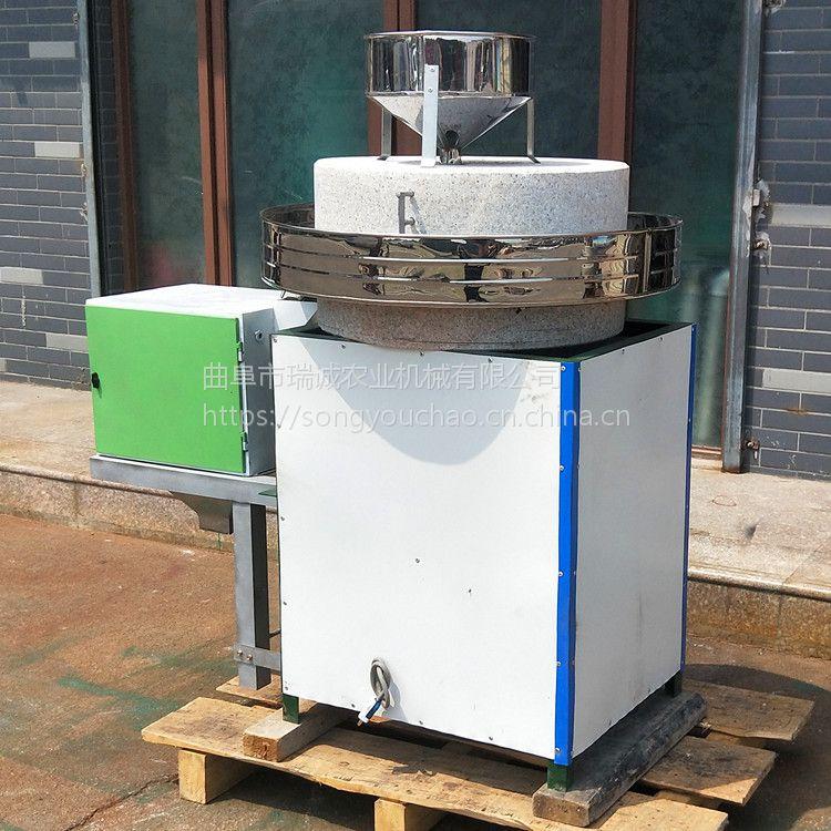 厂家销售电动面粉石磨 小麦杂粮磨粉设备 多功能电动石磨机
