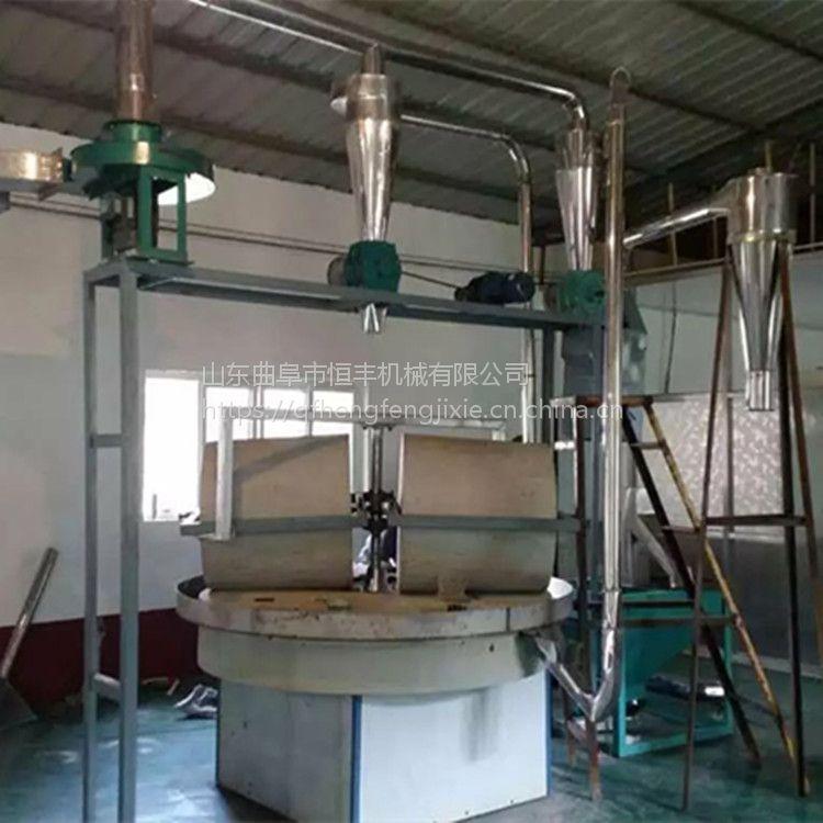 老厂家小麦高粱面粉石磨 新款电动大米石磨机 两相电豆浆石磨
