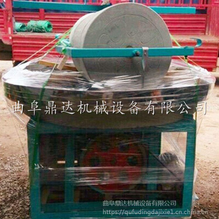 单辊双辊电动石碾生产厂家 磨小麦面粉专用电动石磨