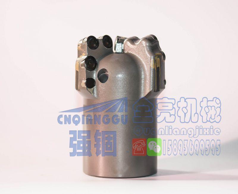 强锢高强度113三翼弧角复合片钻头 一体化钢体自己生产