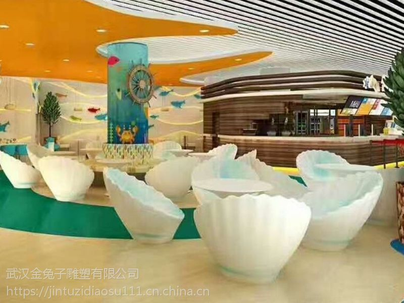 武汉玻璃钢雕塑制作厂家 不锈钢雕塑 商场美陈摆件 房地产景观雕塑设计公司
