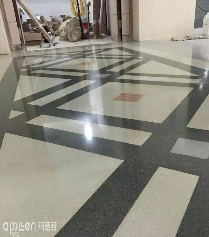 南京艺术水磨石地坪施工装修报价