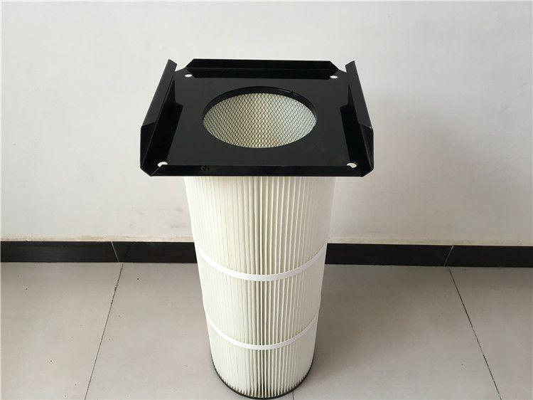 法兰式上装除尘器滤筒 厂家货源 可以定制