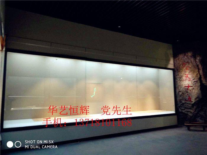 实地拍摄视频片段博物馆展柜