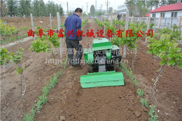 大棚草莓种植起垄机 富兴果园除草旋耕机 葱姜封沟机哪里有卖