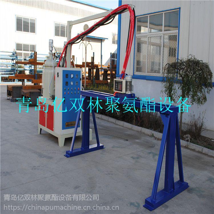 亿双林聚氨酯pu包覆式隔音条流水线 包覆式隔音条机器生产线