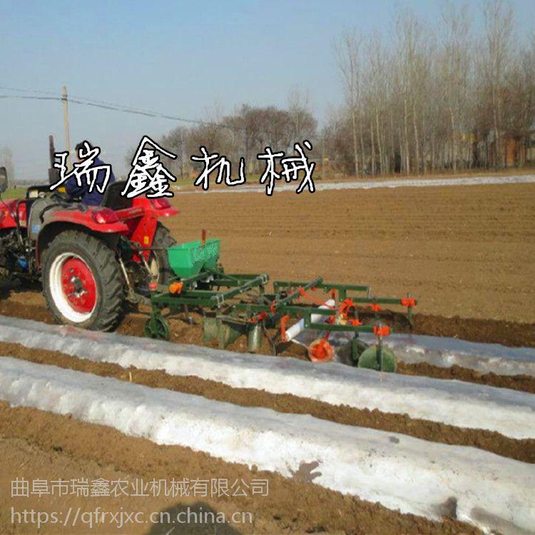 瑞鑫施肥喷药播种一体机 高效喷药覆膜机 玉米播种机批发