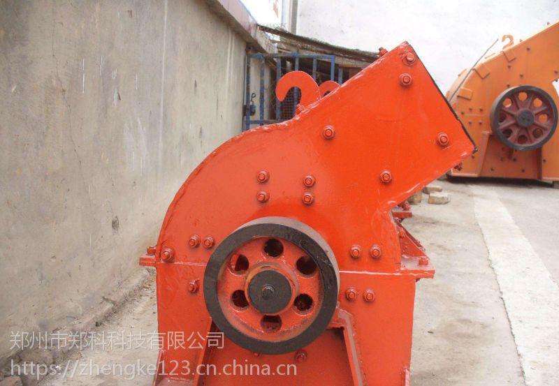 济南郑科600X400型锤式破碎机用于破碎制砂生产线