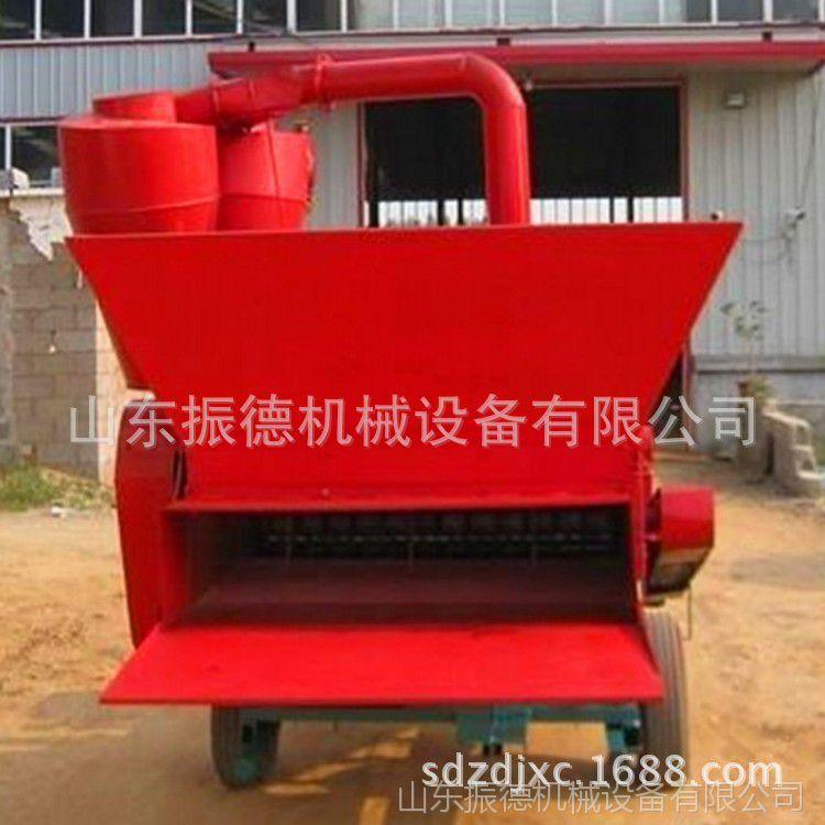 饲料粉碎机设备 地瓜秧玉米秸秆粉碎机 各种农作物粉碎机 振德