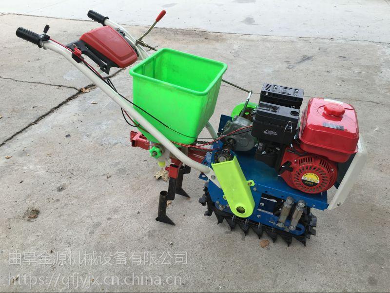 小麦播种机手扶拖拉机玉米精播机播小麦大豆