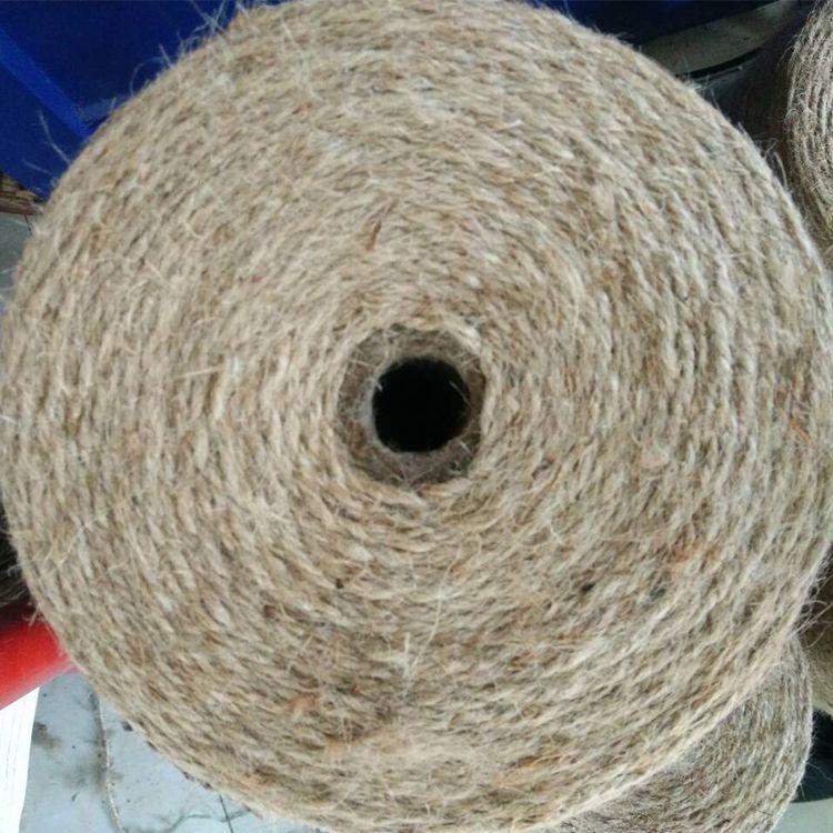 山东饲料牧草打捆机甘蔗捆绑麻绳专用麻绳秸秆打捆机打包绳