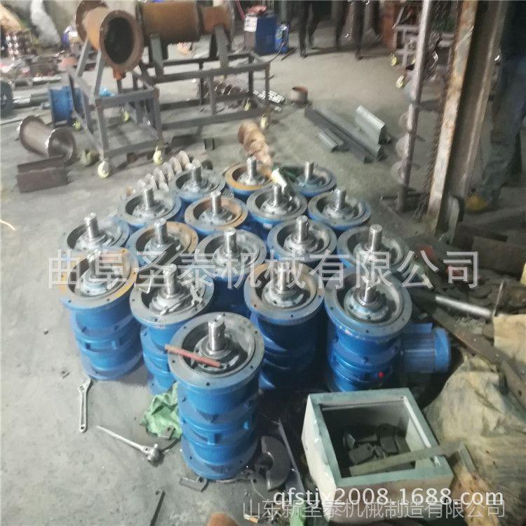 粪便脱水机制造商 牛粪螺旋挤压固体分离机 脱水设备