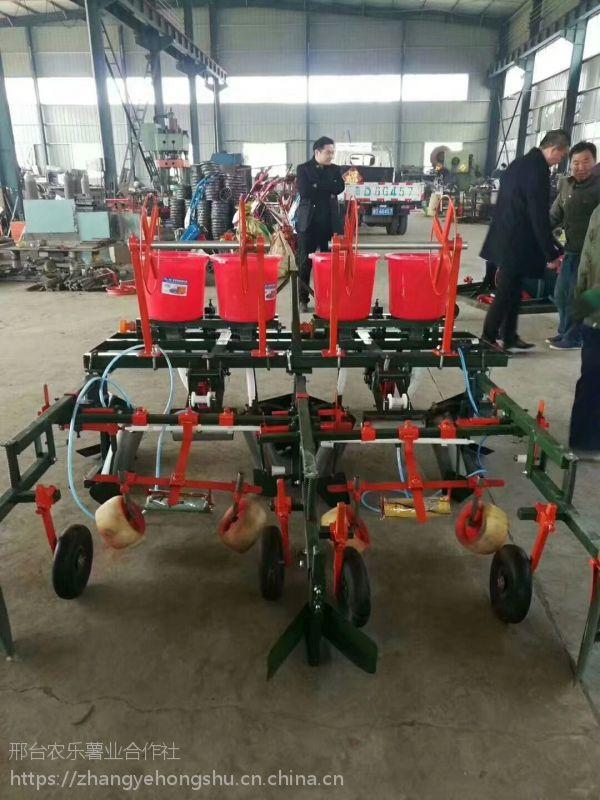 厂家直销红薯专用 微耕起垄施肥覆膜一体机
