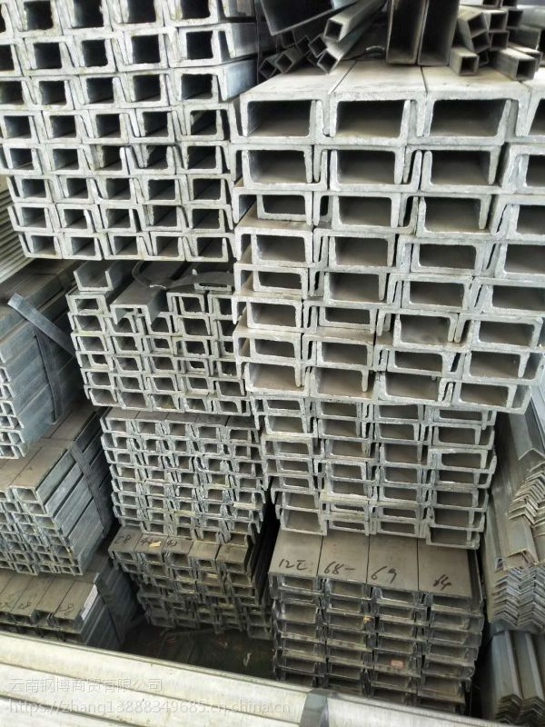 云南厂家直销 镀锌槽钢 Q235材质 规格齐全