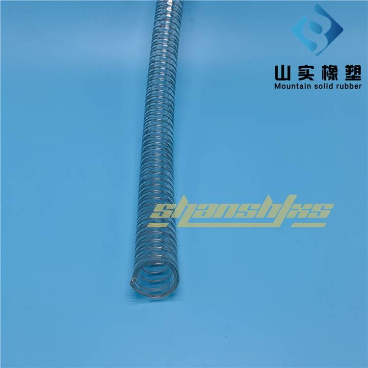 抗老化耐高温耐腐蚀食品级软管 透明钢丝食品级输送管 聚氨酯环保无毒优质