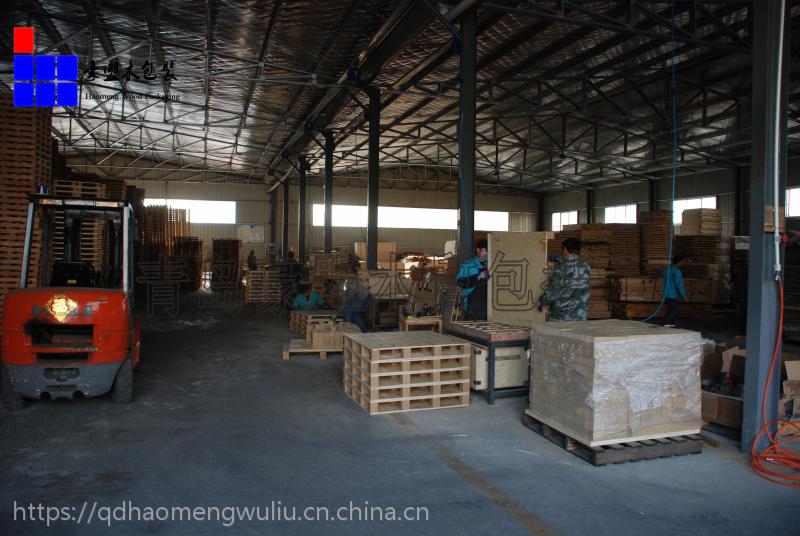 木制托盘厂家直供青岛港口出口松木托盘规格定做