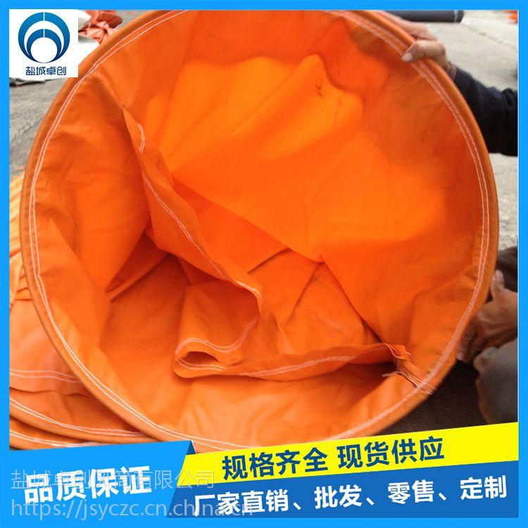 卓创风筒 规格800mm耐磨PVC涂覆布材质正压风管风筒布